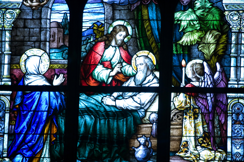 Saint Joseph Cathedral The Sacrament Of Anointing Of The Sick